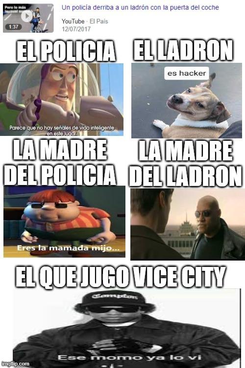 jaja que idiota (tommy vercetty) - meme