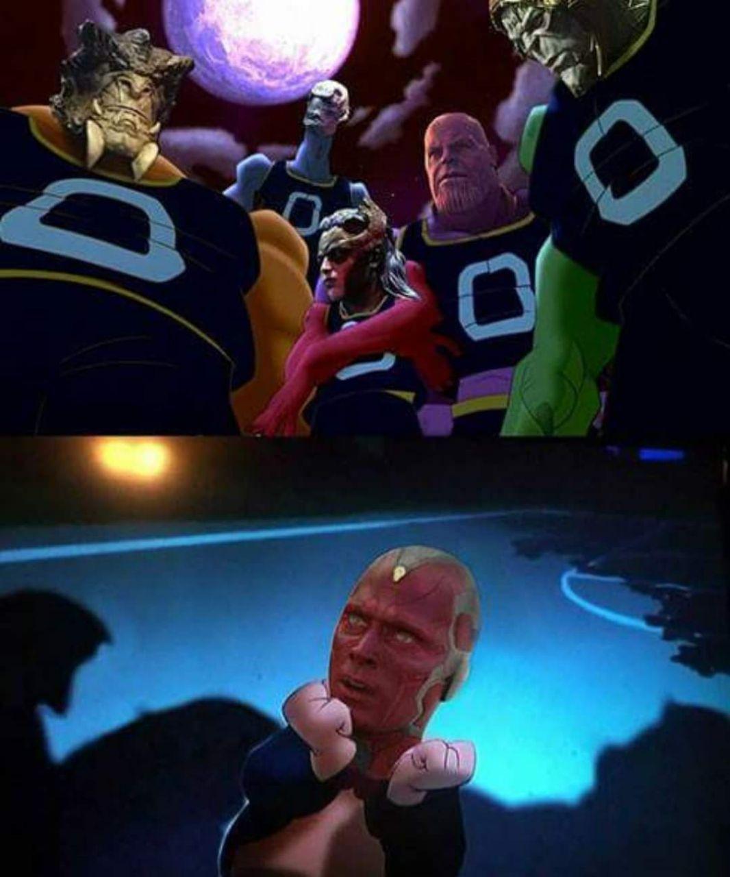 Space Jam: la guerra del infinito - meme