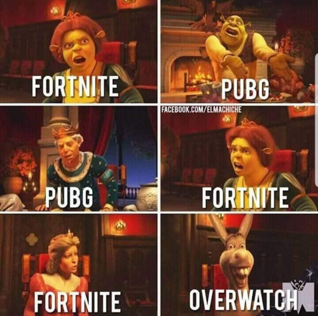 Fortnite or Pubg? - meme