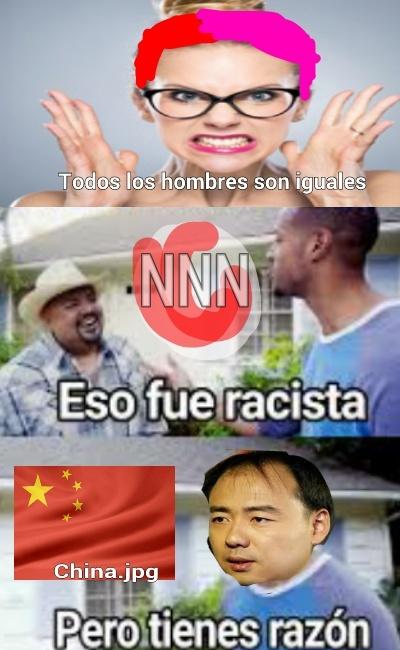 Los chinos son iguales - meme