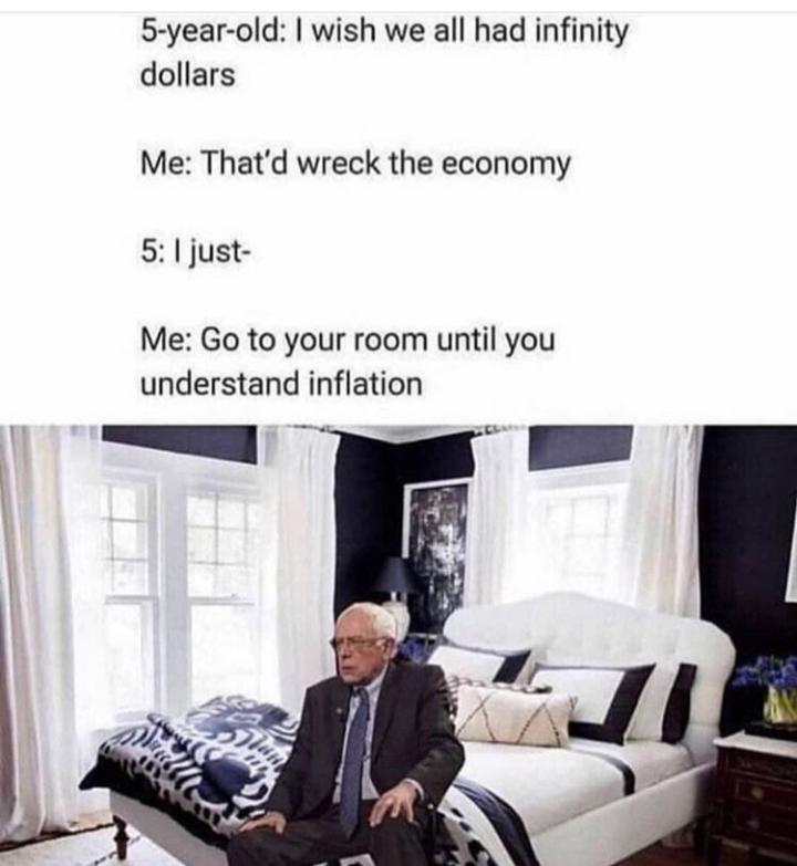 Go to your room, Bernie - meme