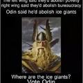 Odin for prez