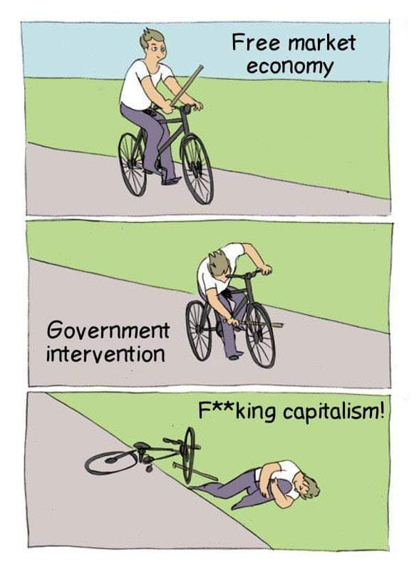 damn it capitalism... - meme