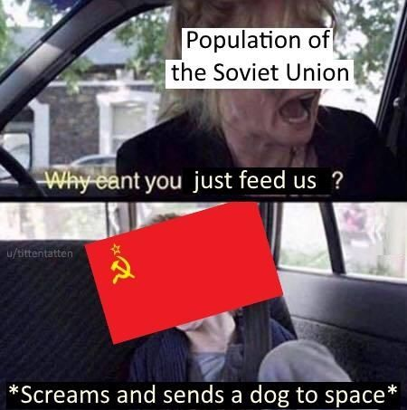It's soviet time bois - meme