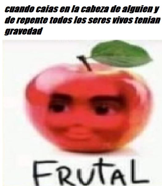 Frutal - meme