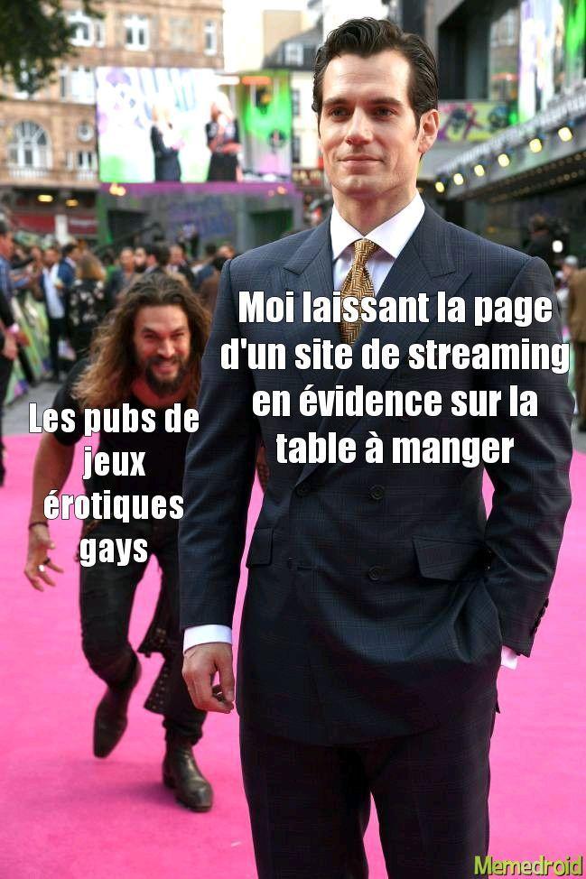 Jsuis pas PéDé - meme