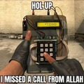 I am gonna order some IED from the most merciful