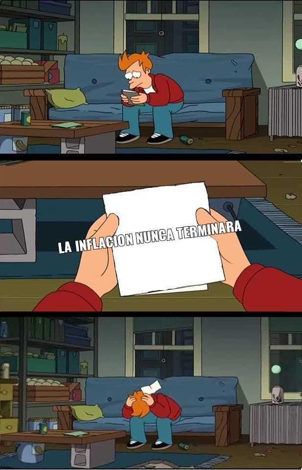 Inflacion - meme