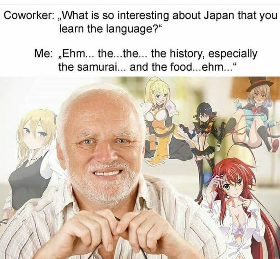 I just love the culture. - meme