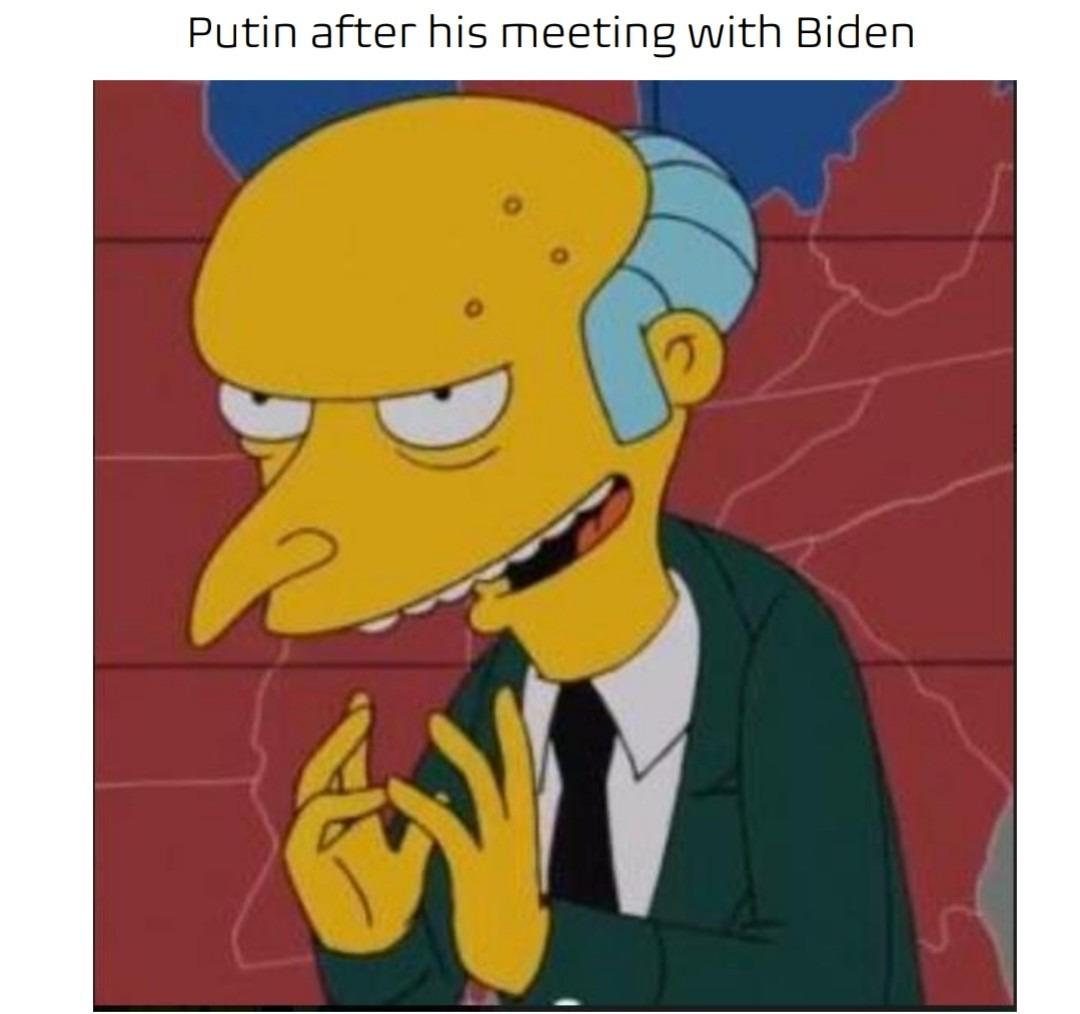 Thanks for everything, Joe - meme
