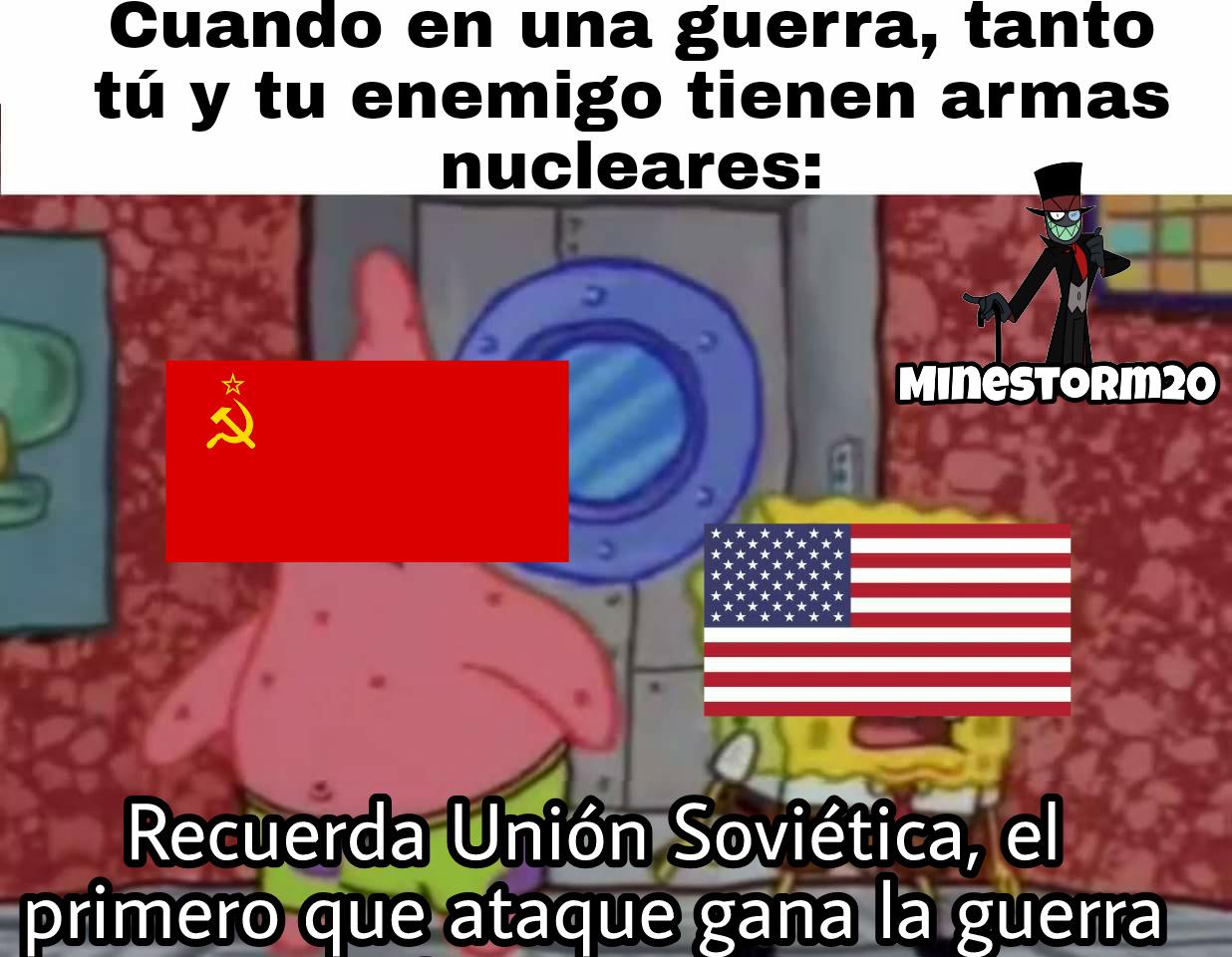 La Guerra Fría - meme