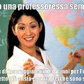 Tutte le prof so così