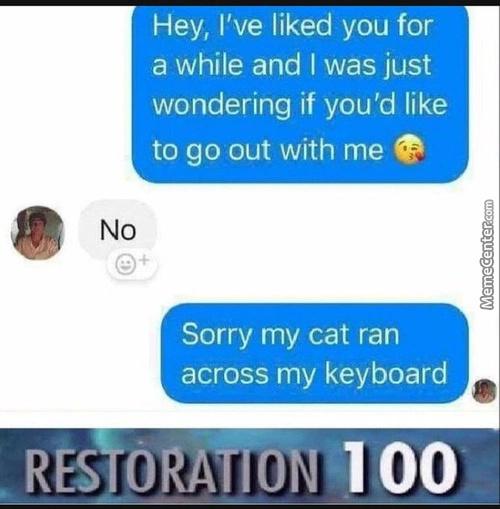 Restoration - meme