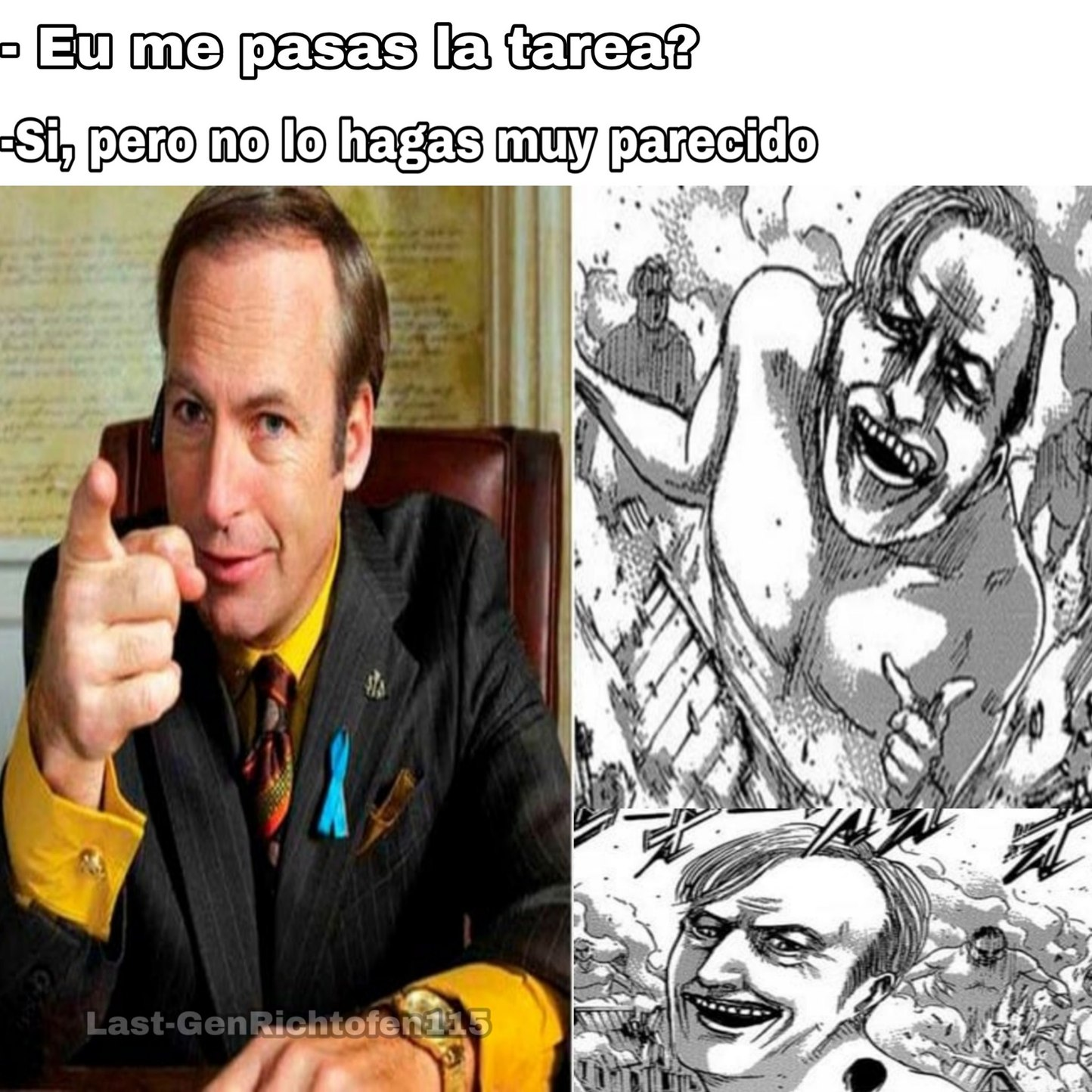 Recuerden Llamar A Saul! - meme