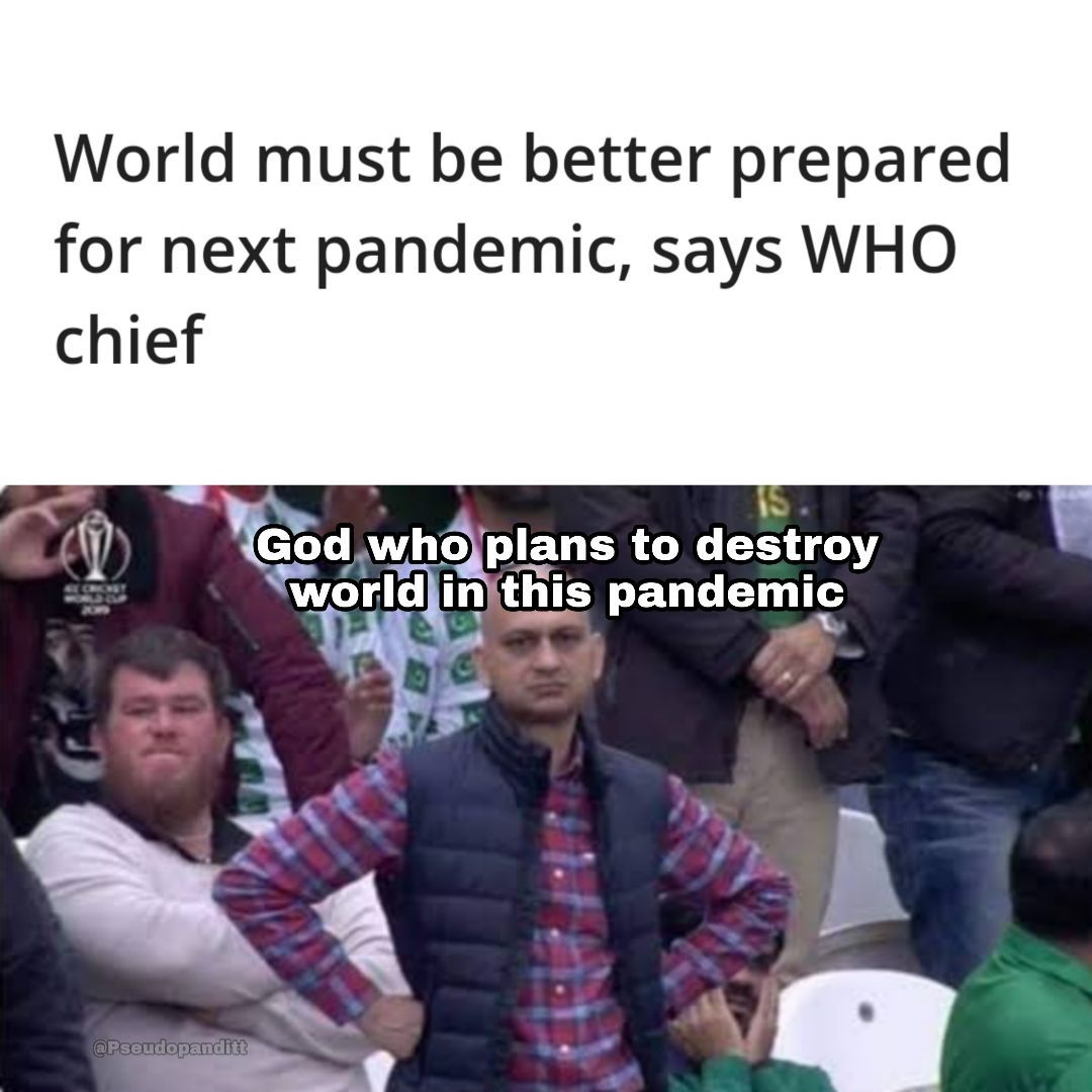 God's plans goes brr - meme