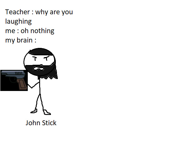 John Stickman the Hitman - meme