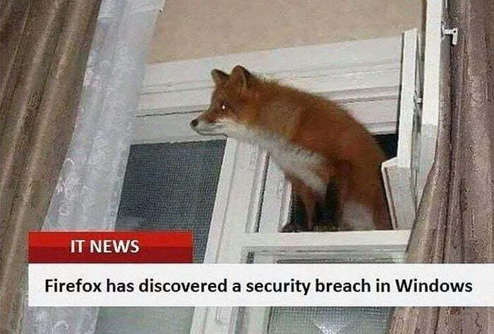 Firefox enters the chat - meme