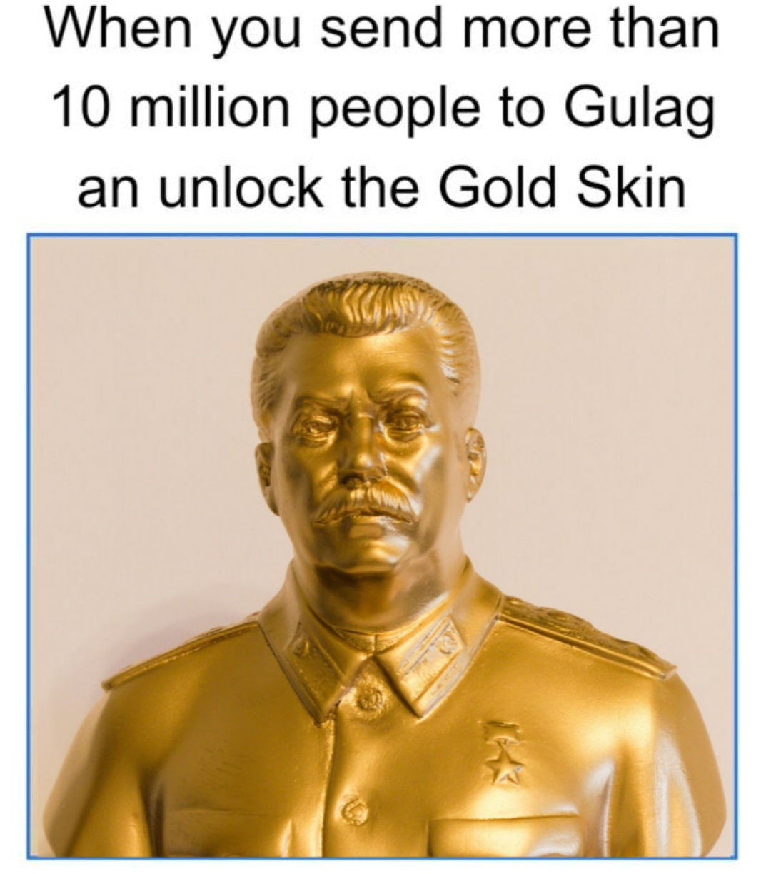 The Golden Gulag - meme