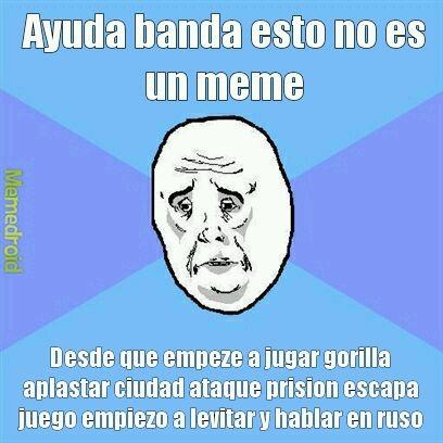 AYUDAAAAA - meme