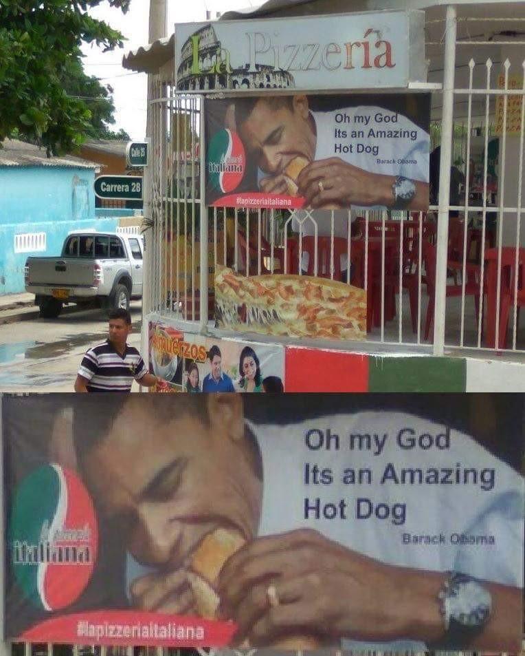 Obama connaît les bon plans - meme