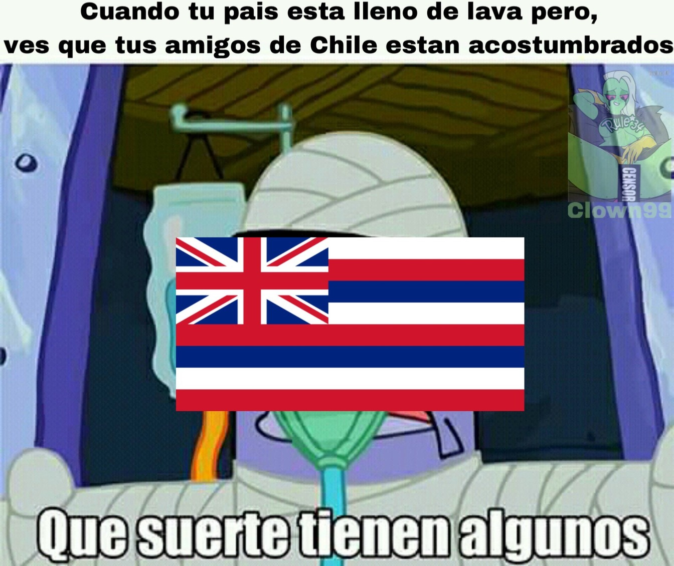 Pobres hawaianos - meme