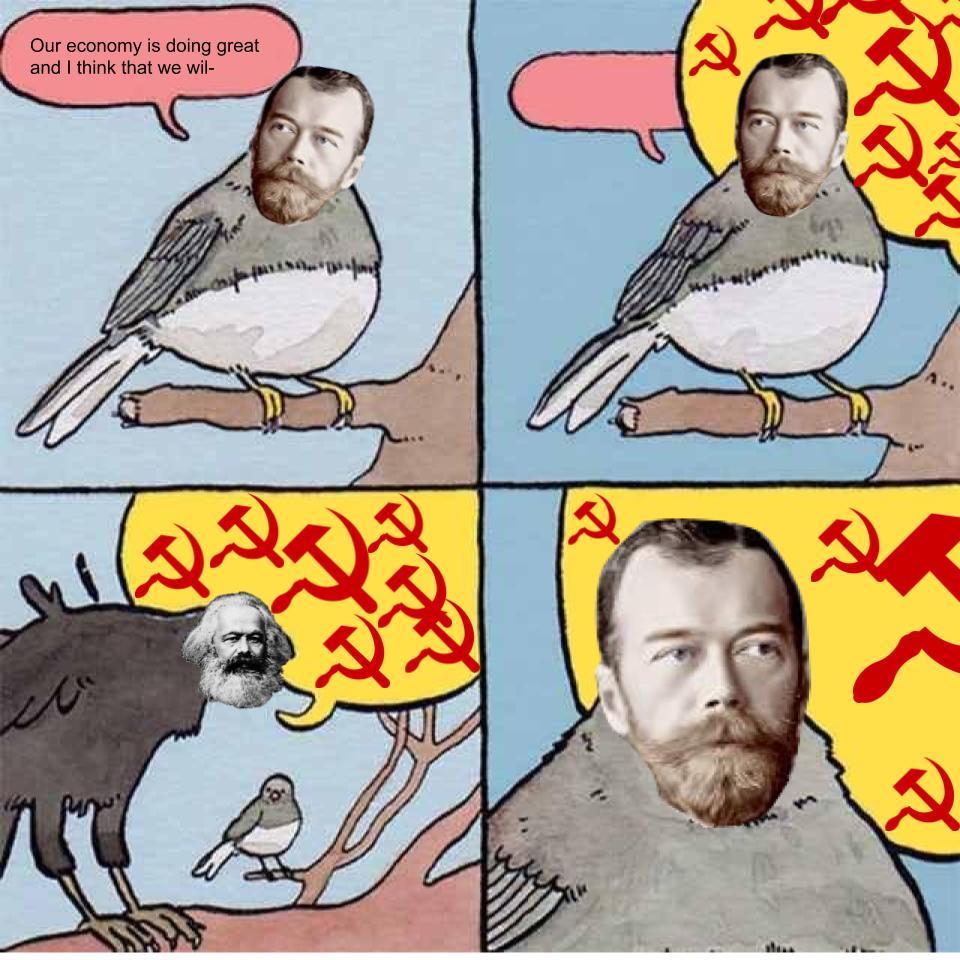 Communism is big - meme