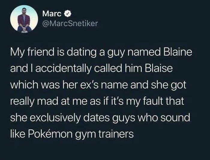 Pokémon gym trainers - meme