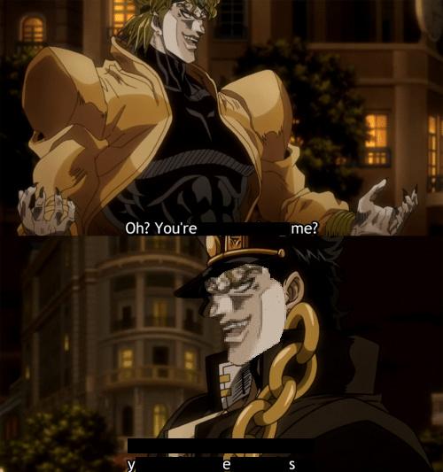 Unexpected encounter - meme
