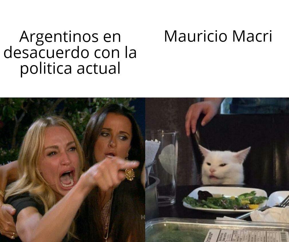 Miau-ricio macri - meme