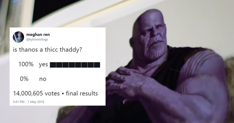 I'm looking at u thicc_thanos - meme