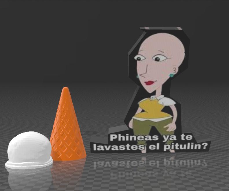 bad ending phineas no tuvo helado por no lavarse el pitulin ;-; - meme