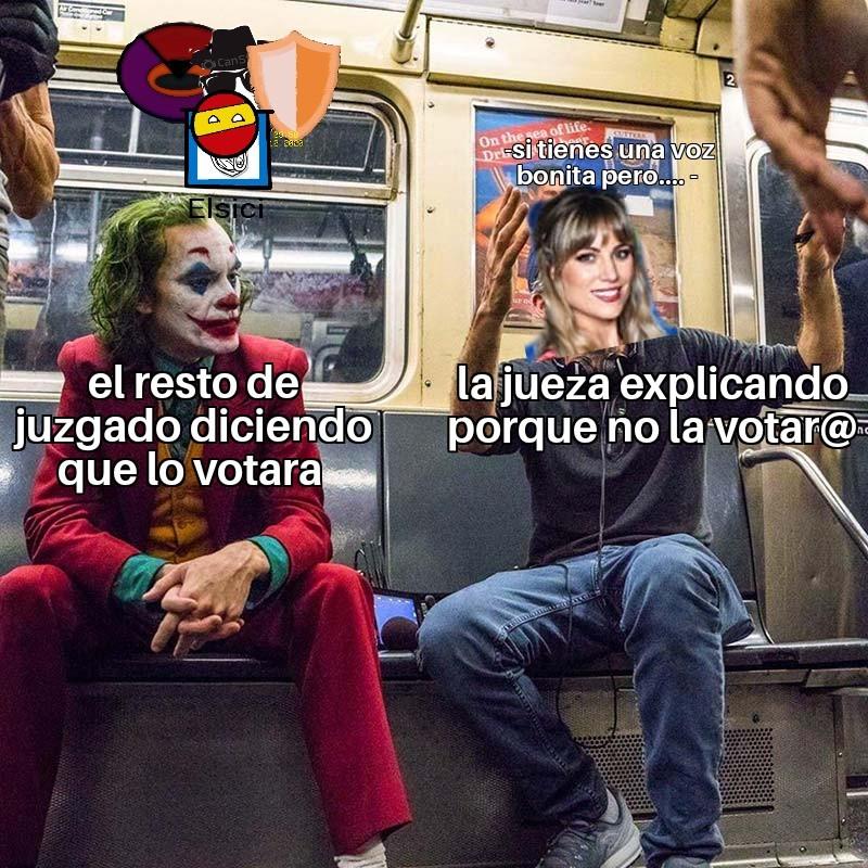 La reina de los *pero* - meme