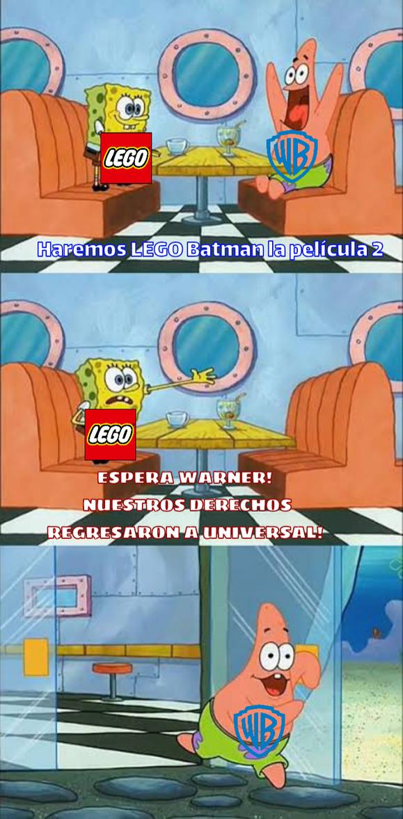 Básicamente potencial desperdiciado de películas lego. - meme