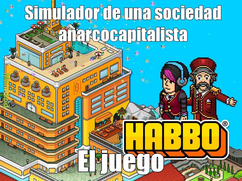 Ese juego era la cosa más capitalista posible , tenía una economía virtual más grande que el Bitcoin o las loot boxes del CS:GO - meme