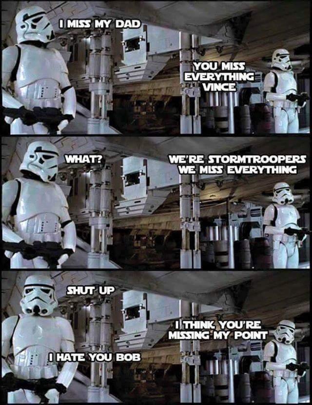 Da stormtroopah - meme