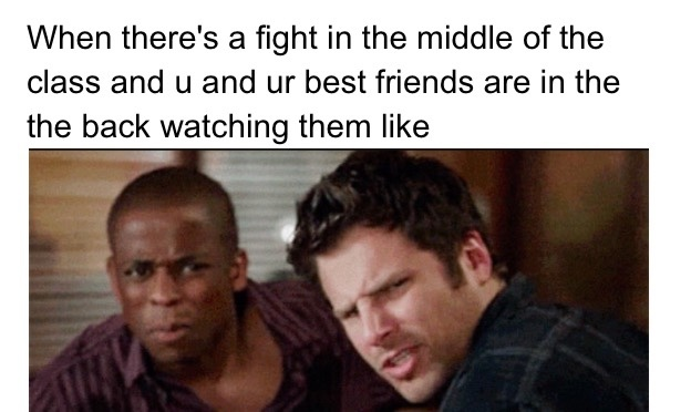 I haven't uploaded a psych meme in a long time