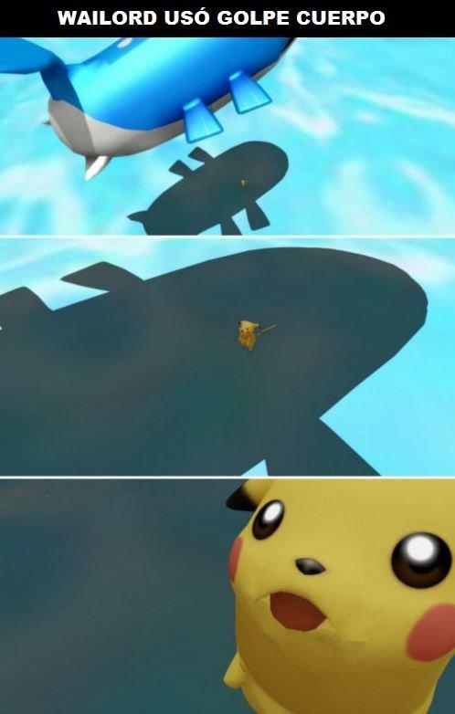 Pobre pikachu - meme