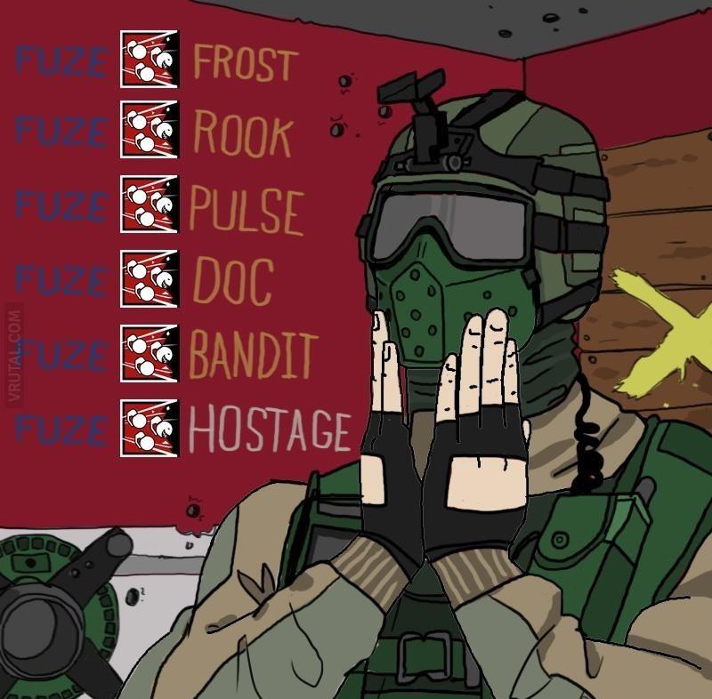 Hostage killed - meme