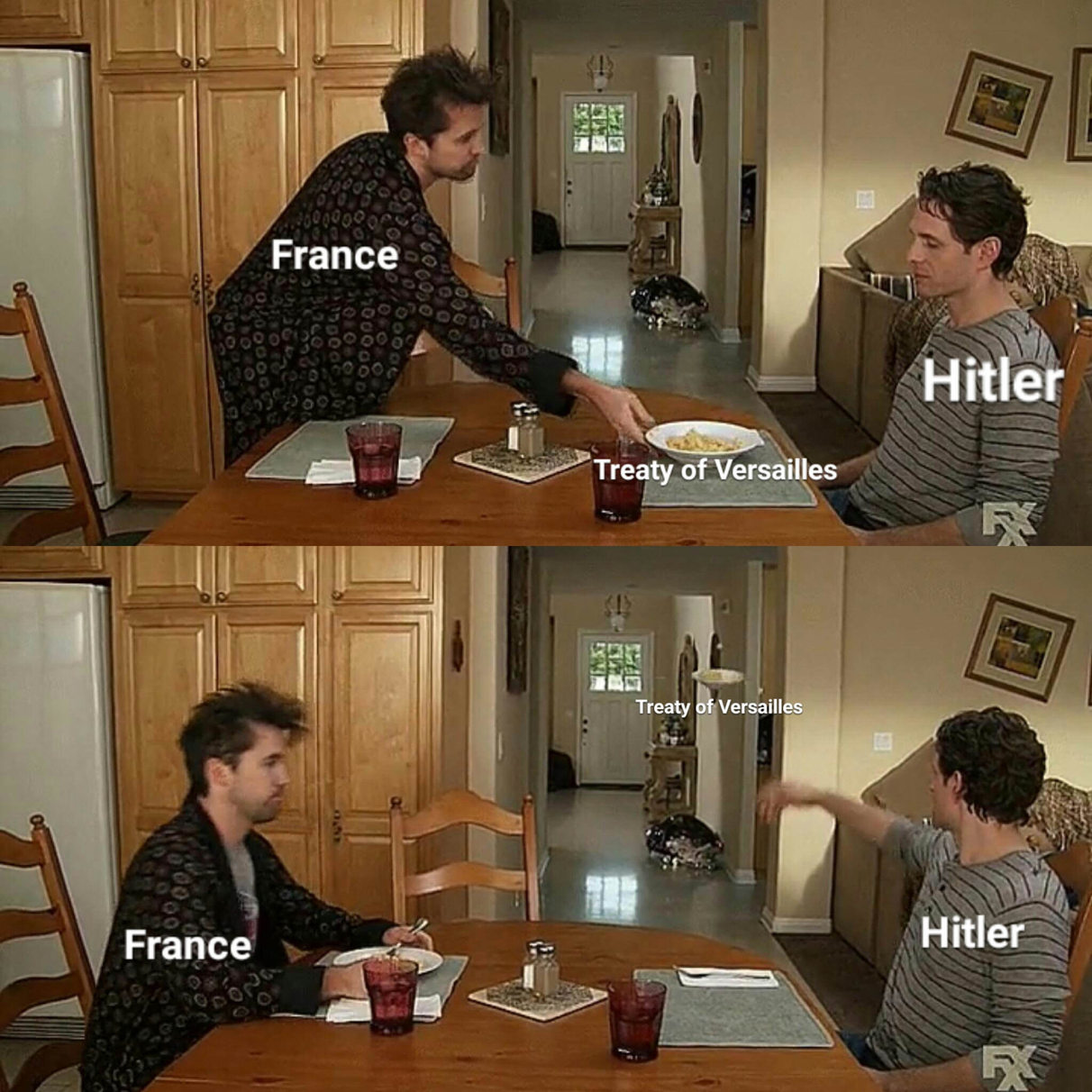 Fuck the traty of Versailles - meme