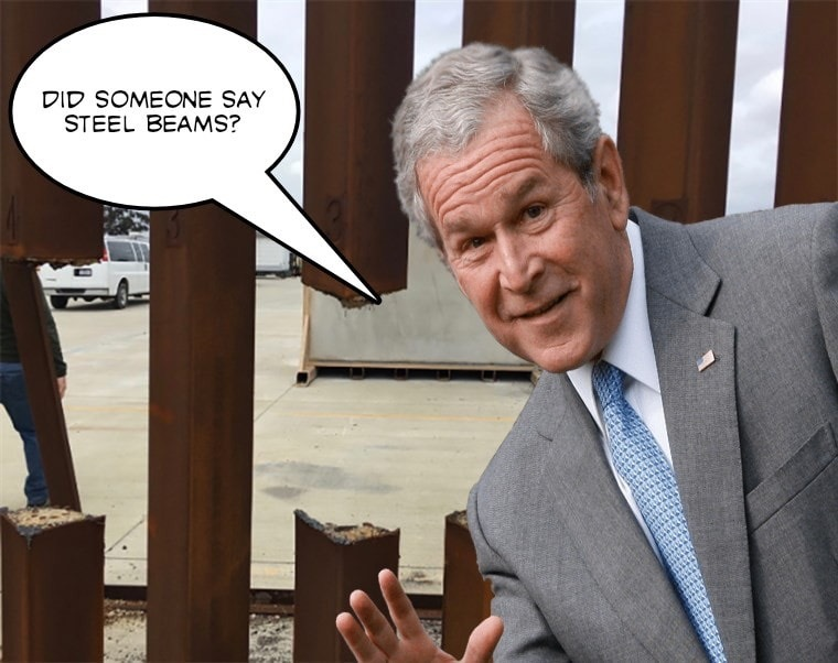 Something something bush did something - meme