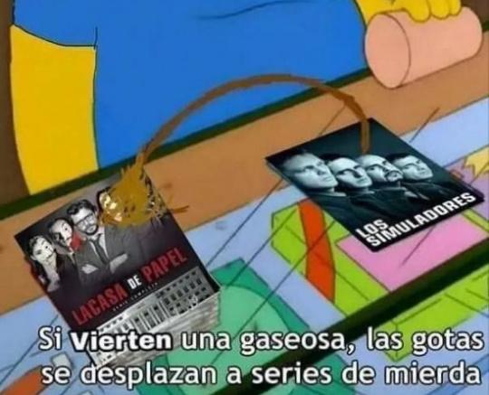 AGUANTE LOS SIMULADORES - meme