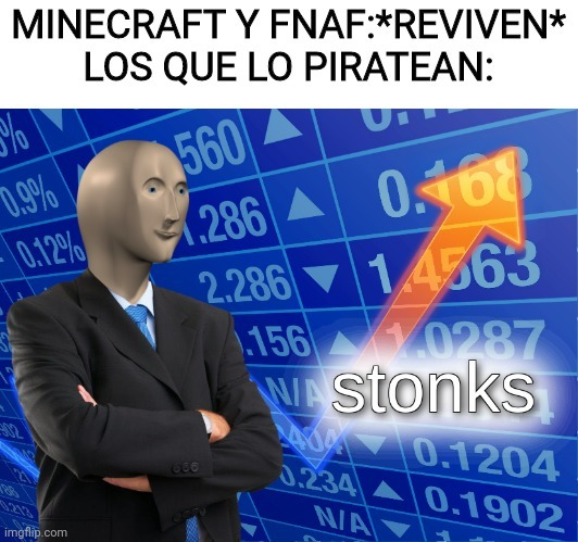 Stonks man - meme