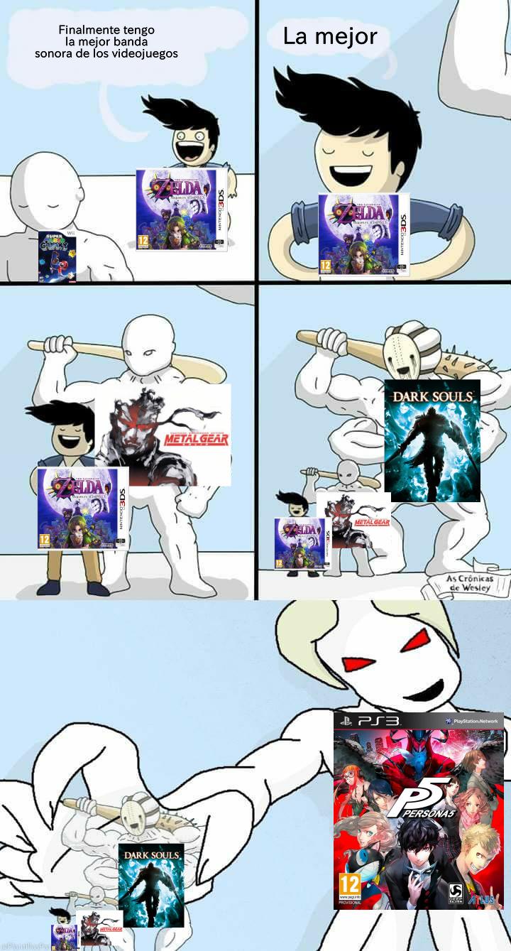 Last Surprise es epica por defecto - meme