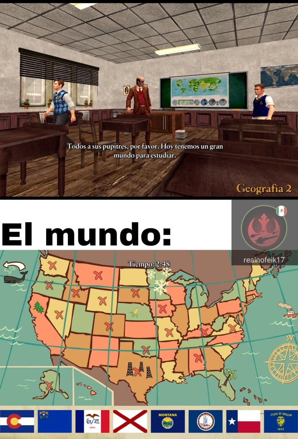 estadounidenses be like - meme