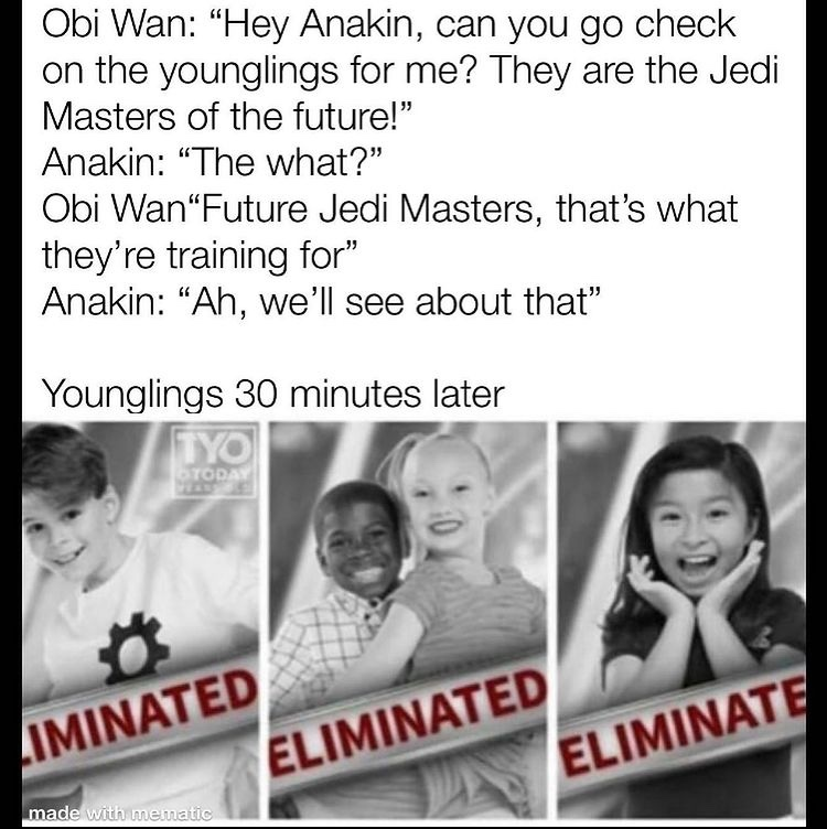 eliminate - meme