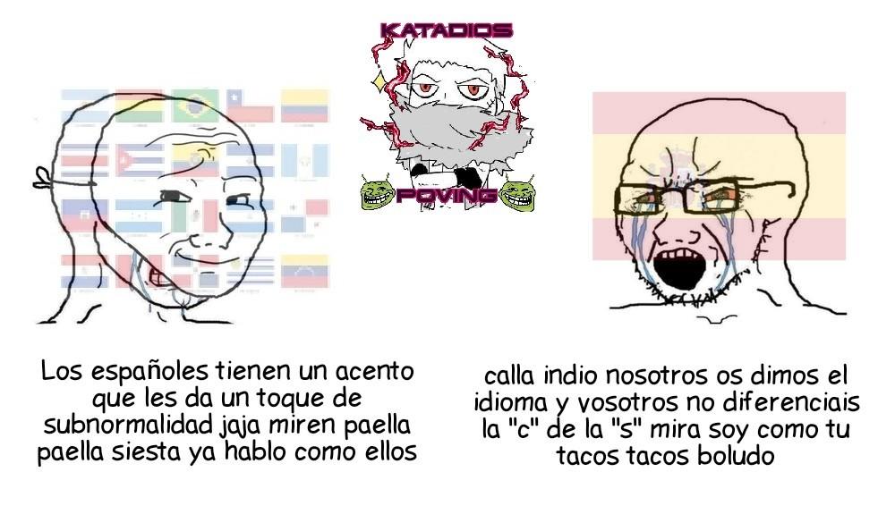 Triple autistas - meme