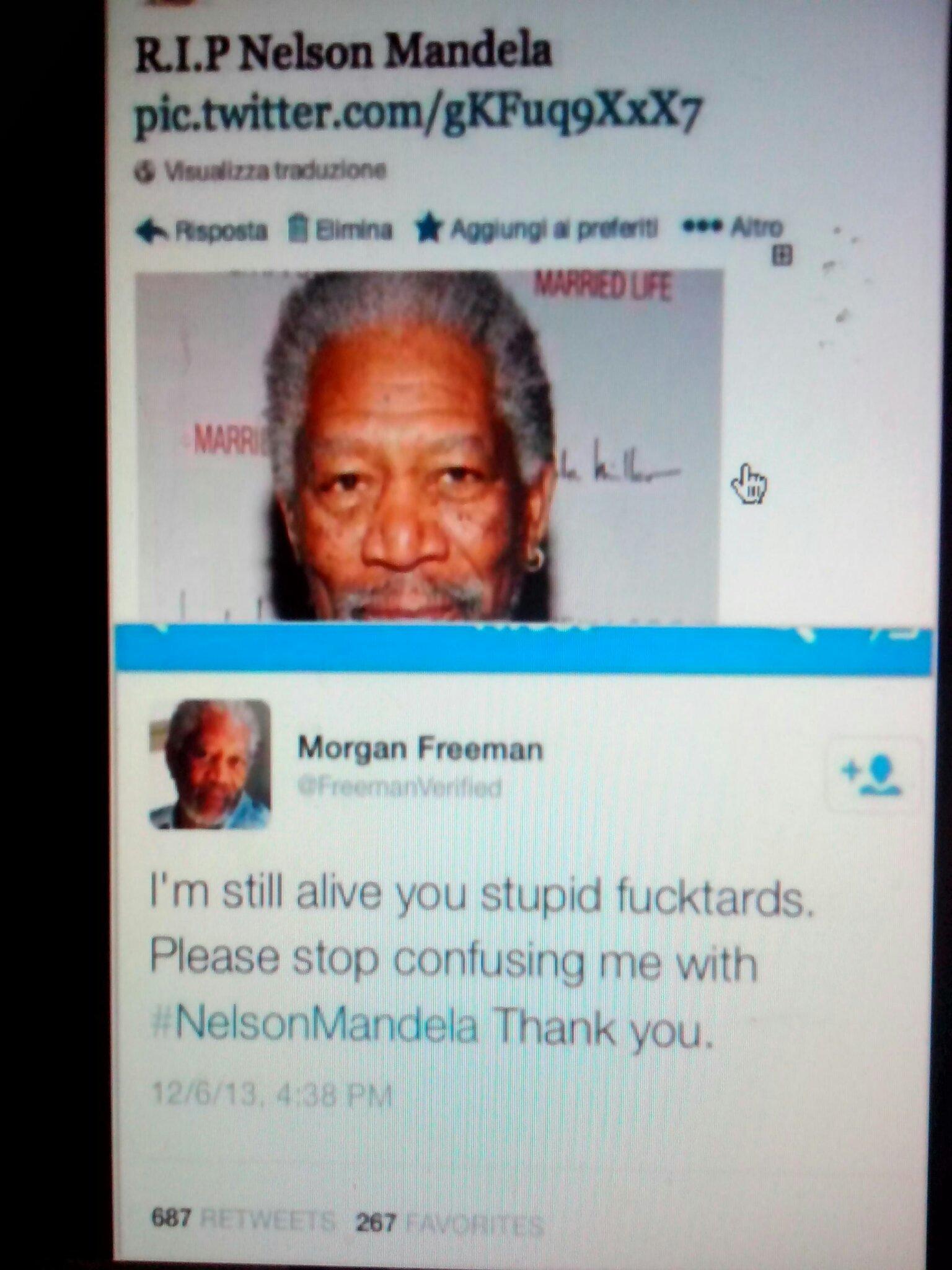 morgan freeman rage - meme