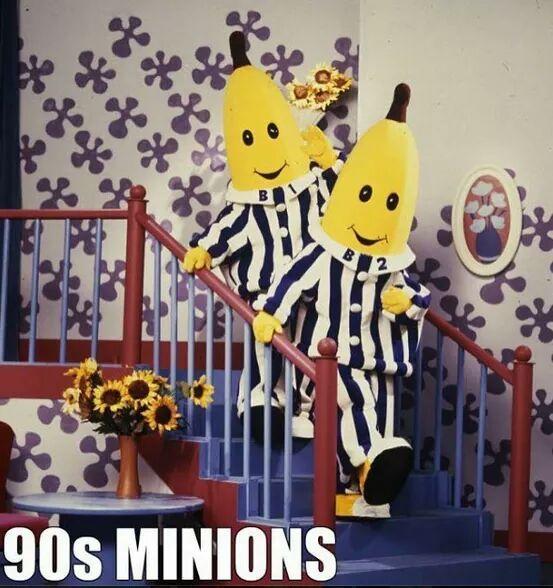 Banooners in pajoomers - meme