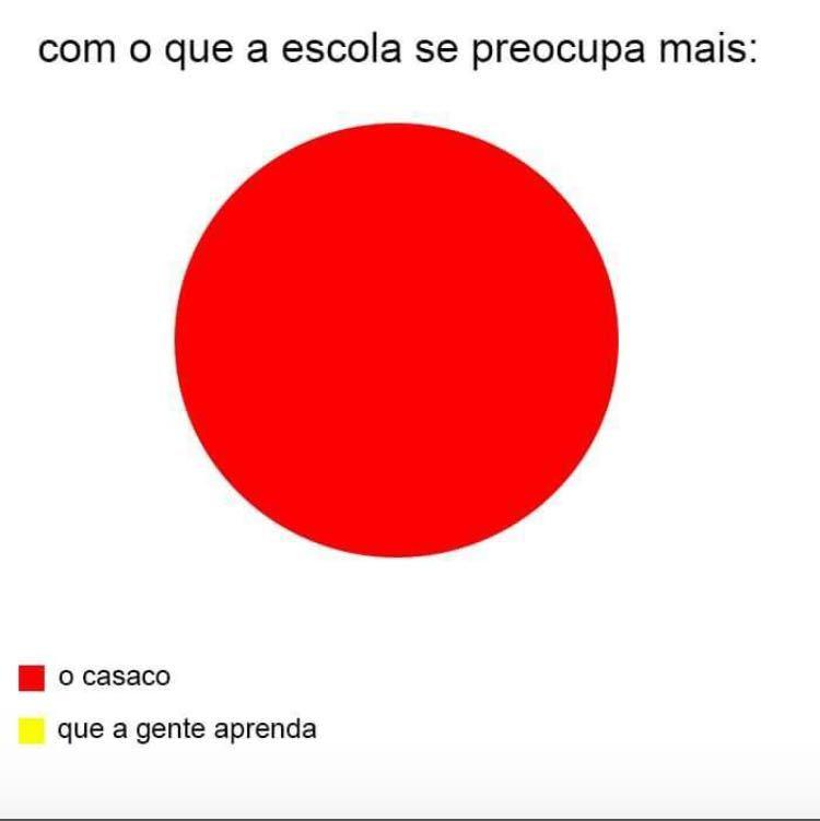 Se vc prestar atenção as estatísticas formam a bandeira brasileira - meme