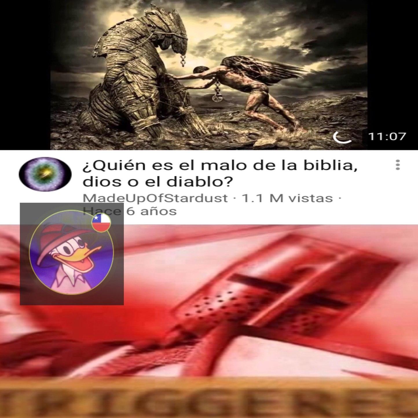 Malditos Herejes hijos del diablo! - meme